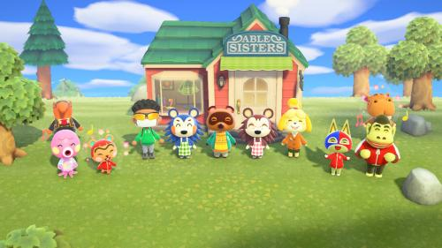 Animal Crossing New Horizons gamers can snag a couple