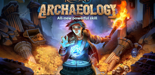 Archaeology skills have been logged in RuneScape, which is more exciting than this.