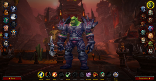 The journey in World of Warcraft excites me