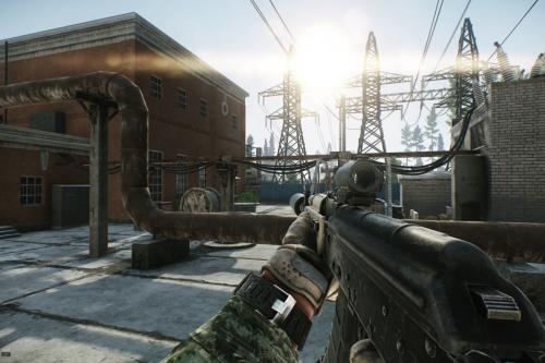 The aboriginal affair that absorbed me about Tarkov